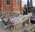 Krynica-Zdrój, nagrobek Nikifora na starym cmentarzu (HB1).jpg