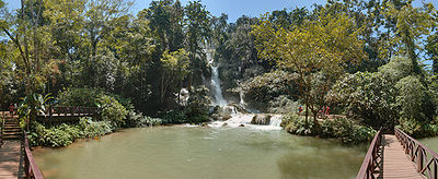Kuang Si Waterfalls Luang Prabang Wikimedia Commons