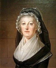 Maria Antonina w więzieniu Temple