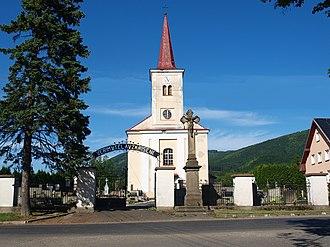 Kunčice pod Ondřejníkem - Image: Kuncice Church