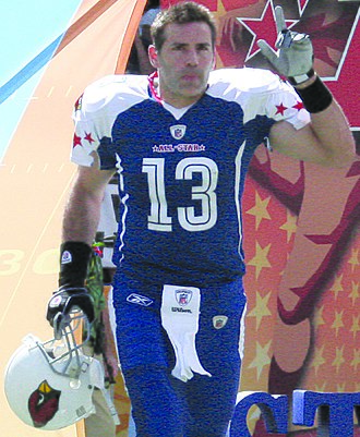 Kurt Warner - Warner at the 2009 Pro Bowl