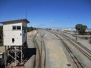 Kwinana freight railway