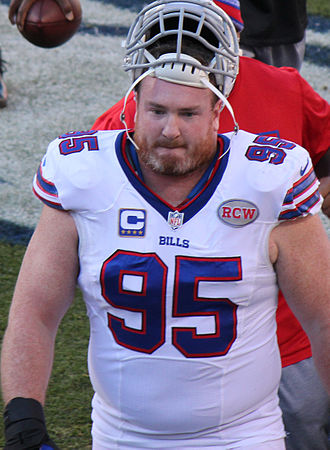 Kyle Williams (defensive tackle) - Williams with the Bills in 2014
