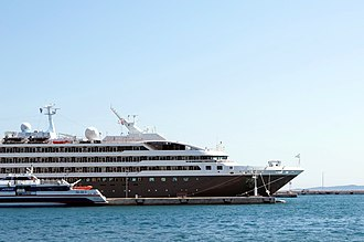 L'Austral - Image: L'Austral (ship, 2011) IMO 9582518, in Split, 2011 07 06