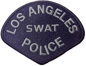 LAPD Metropolitan Division - The shoulder patch of the Los Angeles Police Department Special Weapons And Tactics team (LAPD SWAT).