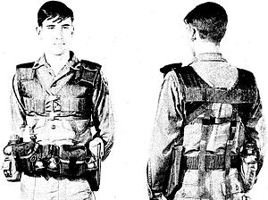 All-purpose Lightweight Individual Carrying Equipment - First generation LINCLOE LCE components circa 1968–1969
