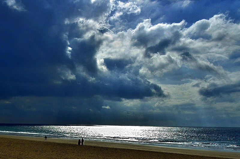 File:La Barrosa. Playa. - panoramio.jpg
