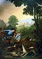 La Caza del Jabalí, Goya 1775.jpg