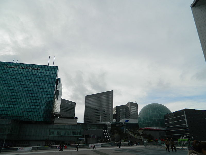 File:La Défense Parvis Dome IMAX and Tour Pascal 01.jpg