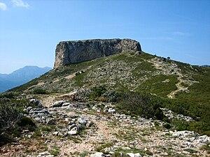 Serra de l'Espina - Image: La Moleta est