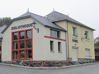 La Nouaye Commune in Brittany, France