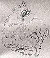 La fin de Piroulet dans la presse écrite (dessin de Charlas).jpg