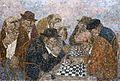 La partie d'échecs, Circa 1977 - 130x195cm (120F).jpg
