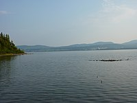 Lac Matapédia vu du dépôt à Soucy.JPG