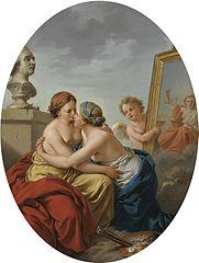 Die Union von Malerei und Skulptur