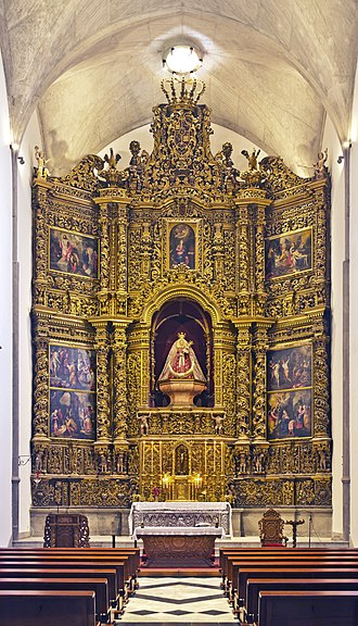La Laguna Cathedral - Altarpiece of Our Lady of Remedies