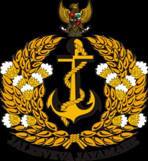 Operation Tinombala - Image: Lambang TNI AL