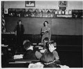 Lancaster County, Pennsylvania. The teacher of the school is a Church Amish woman, the daughter of . . . - NARA - 521097.tif