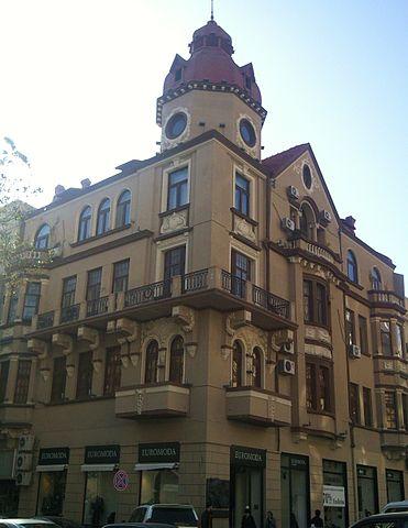 Дом в Баку, в котором до 1924 года жил Лев Ландау
