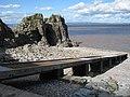 Landing Stage, Castle Rock, Flat Holm. - panoramio.jpg