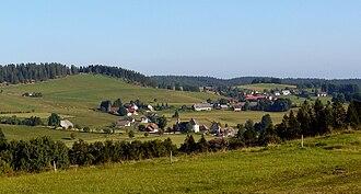 Hotzenwald - Hotzenwald landscape near Ibach