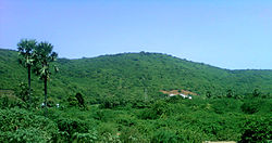 Landscape view at Tuni-Sankhavaram Road