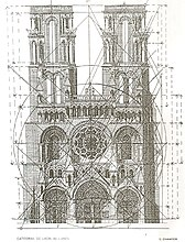 Laon Cathedral's regulator lines.jpg