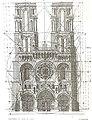 Laon Cathedral's regulator lines.jpg