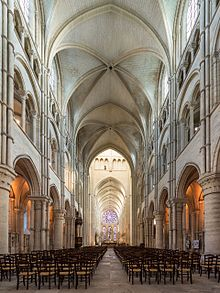 Early Gothic Laon Cathedral (1150s-1230)