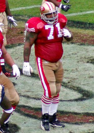Larry Allen - Allen in 2007 with the 49ers