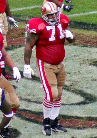 Larry Allen - Allen in 2007 with the 49ers