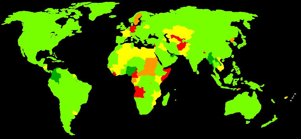 Last census in the world