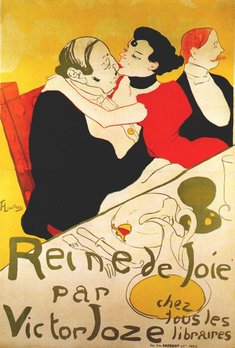 Lautrec reine de joie (poster) 1892