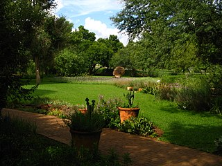 Botanical Garden on the Potchefstroom Campus of the North-West University