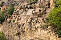 Layers of sedimentary rock formed on the earth's surface. 5034.jpg