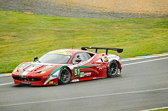 2013 FIA World Endurance Championship - Ferrari won the 2013 FIA World Endurance Cup for GT Manufacturers