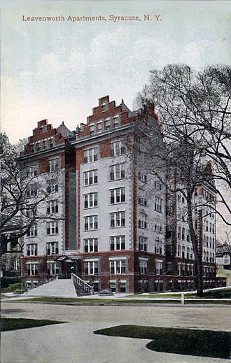 Leavenworth Apartments - Leavenworth Apartments, 1920
