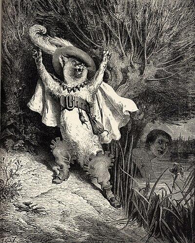 Contes de perrault d 1902 le ma tre chat ou le chat bott wikisource - Dessin du chat botte ...