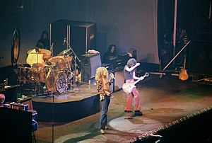 1975 in music - Led Zeppelin in Chicago, 1975