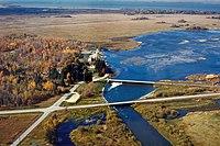 Leech Lake and Dam Minnesota.jpg
