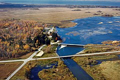 Leech Lake and Dam Minnesota.jpg