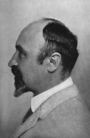1916 photograph of Leo Hendrik Baekeland. Capt...