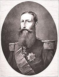 Léopold II roi des Belges vers 1880
