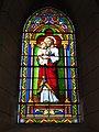 Lesperon (Landes) église, vitrail 10.JPG