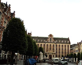 Trinity College, Leuven - The secondary school now on the site, replacing the buildings bombed in 1944