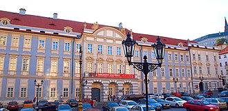 Liechtenstein Palace (Malostranské náměstí, Prague) - The palace in 2012