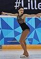 Lillehammer 2016 - Figure Skating Pairs Short Program - Irma Caldara and Edoardo Caputo 3 (cropped) - Irma Caldara.jpg