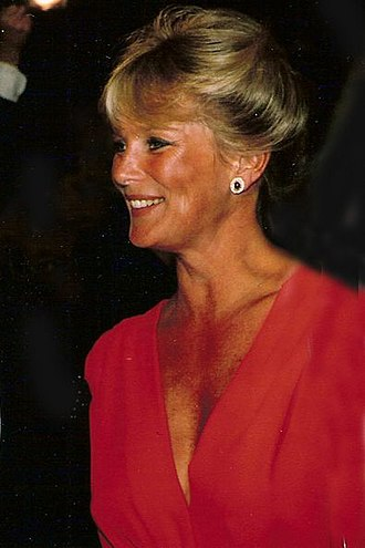 Linda Evans - Evans at Carousel Ball in Denver, 1995