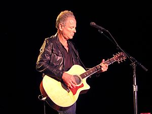 Lindsey Buckingham - Buckingham performing at the Neighborhood Theatre, Charlotte, NC, July 31, 2012