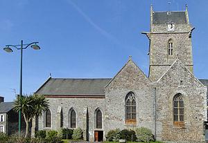 Lingreville - The church of Saint-Martin